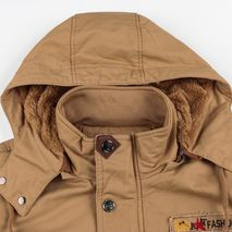 Winter Military Jacket Men Casual Thick Thermal Coat Army Pilot Jackets Air Force Cargo Outwear Fleece Hooded Jacket 4XL Clothes